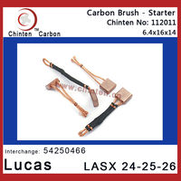 Lucas auto spare parts - carbon brush LASX 24-25-26(brush size 6.4x16x14)