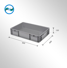 Plastic EU logistics box for warehouse