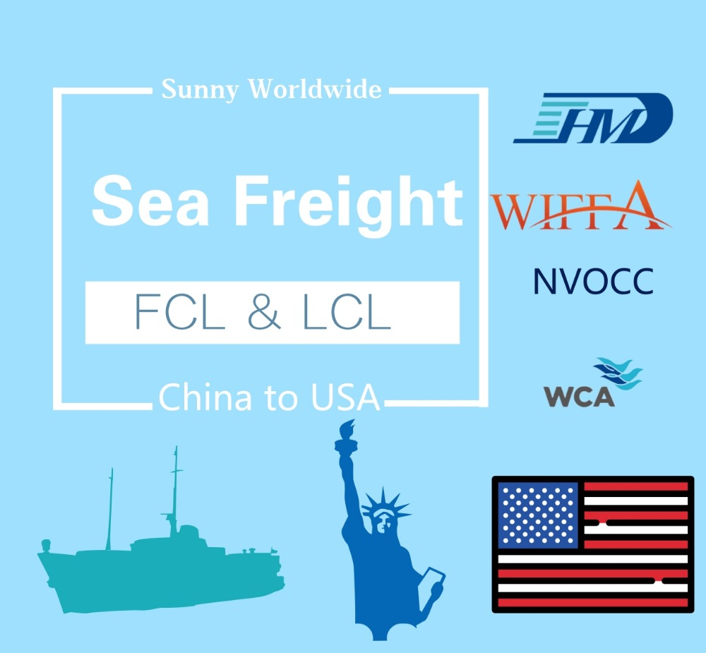 Xiamen Fuzhou Sea Cargo Shipping To USA Orlando
