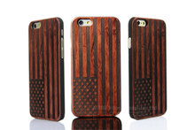 Laser engraved patterns for iphone 6 bamboo wood cell phone case