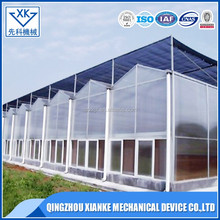 China Supplier Agricultural Multi Span Polycarbonate Greenhouse