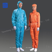 High-quality ESD Cleanroom Hooded Suit
