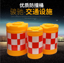 water fill safety temporary crowd barrier blowing plastic road barrier