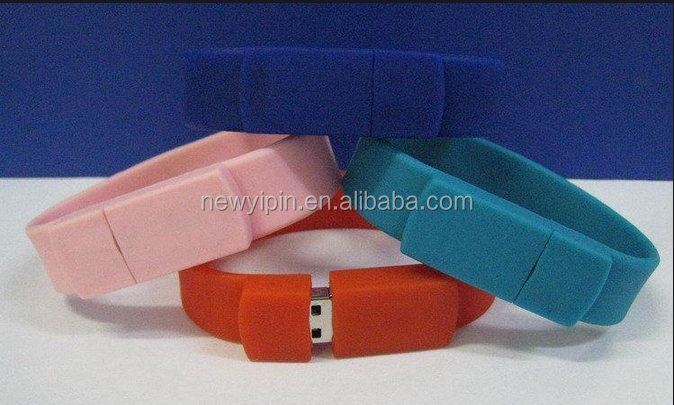 direct supplier custom silicone usb bracelet, custom usb bracelet, waterproof usb bracelet