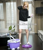 2013 Hot sell cleaning mops 360 rotating double devices 360 magic mop ,roto mop as seen on tv (XR15)