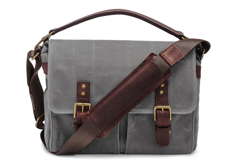 mens messenger bag - waterproof Canvas mens messenger bag