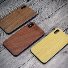 mobile phone accessories,wooden TPU mobile phone case for iphone, engrave wood covers for iphoneX