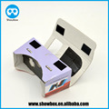2015 hot sale Smartphone Stereoscopic viewer 3d box logo design