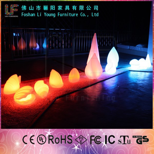 Nice Quality Popular All Kinds Of Size And Shape Romantic Beautiful Decoration Glow Lamp Waterproof Outdoor LED Garden Light