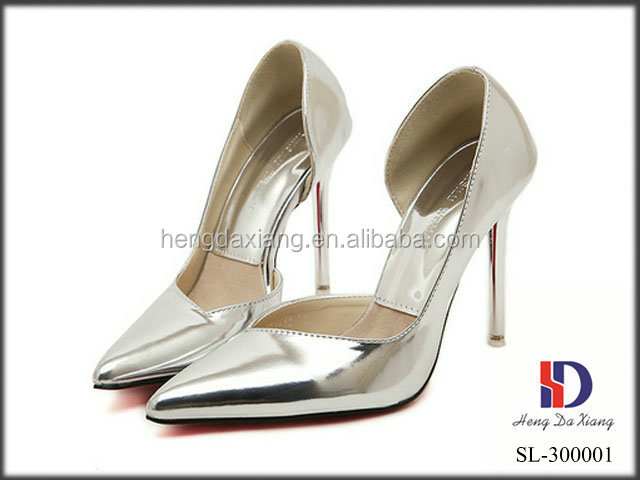 hot selling high heel fashion latest shoes 2015 for women