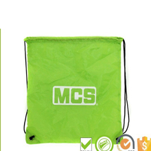 eco friendly new products nylon drawstring bag