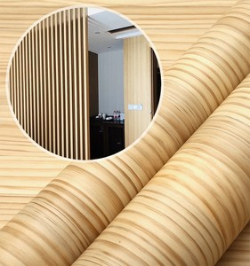 For hospital decorative water-based glue self adhesive  pvc wood grain film