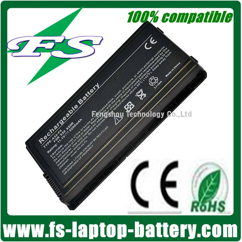 100% Brand New Replacement li-ion battery pack for asus a32-f5 5200mAh