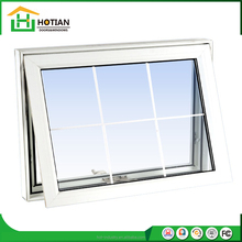 2017 Modern house UPVC windows style of window grills design for Europe awning windows