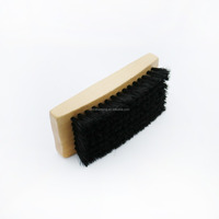 Wood Handle Material and Pig Hair Hair Type decorative shoe brushes