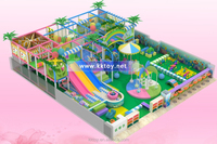 indoor play center playground equipment for children playing