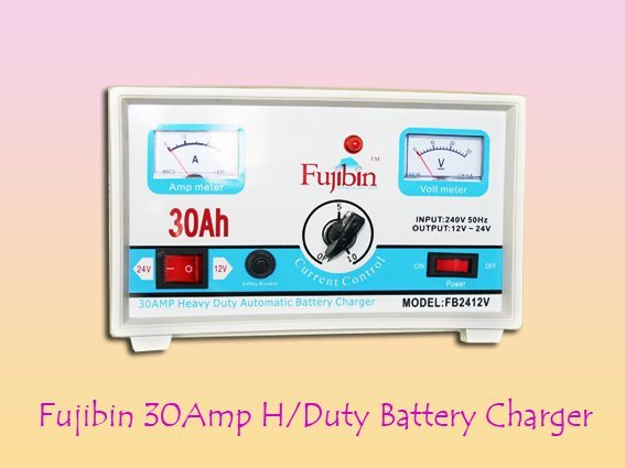 Fujibin 30Amp Battery Charger
