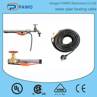 PVC heat trace pipe cable & defrosting heating wire for water pipe