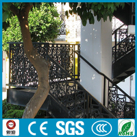 outdoor straight metal stairs price