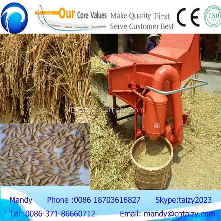 compertive price and best selling power mini thresher for wheat rice and soybean thresher