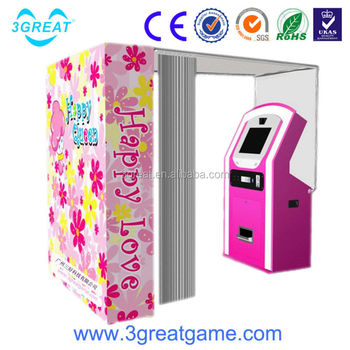 photo vending booth machine