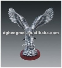 resin flying eagle sculptures