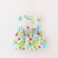 2016 new & hot good quantity low price hot sale kids frilly dresses