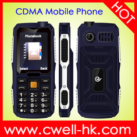 Qtech Q49 Cheap 2.4 inch CDMA Big battery mobile phone