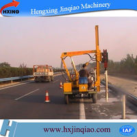 concrete pile cutting machine