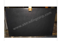 Indian Black Granite slabs / Leather Finished
