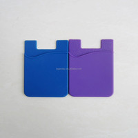 Original Japan 3M sticker wholesale silicone cell phone back holder credit card holder