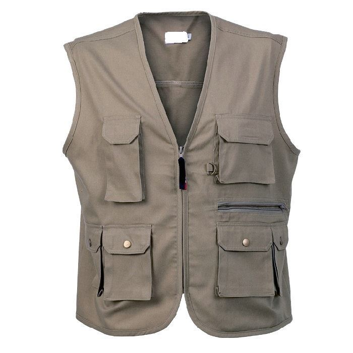 Hot sale economic photographers vest jacket