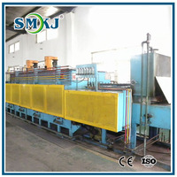 conveyor mesh belt vacuum protection furnace