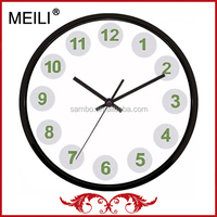 "12"" Promotion Plastic Round Wall Clock"