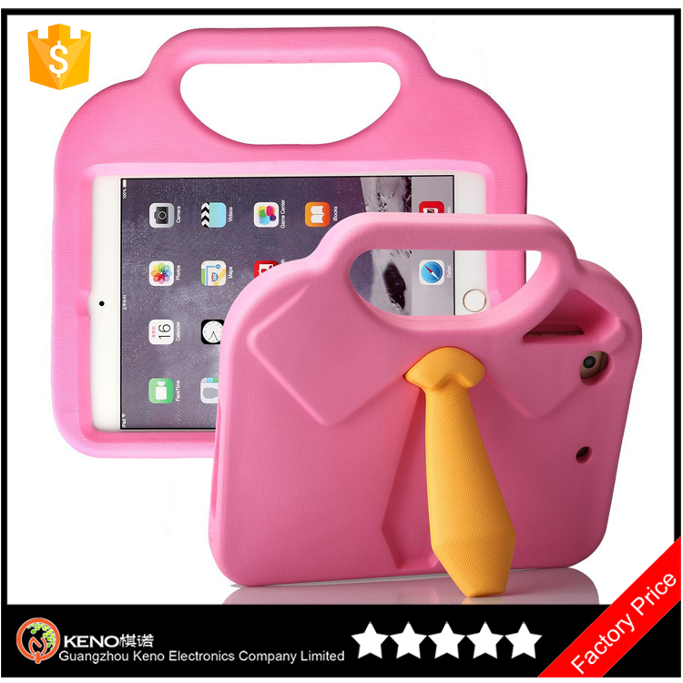 Keno High Quality Cute Girl Eva Kids Friendly Durable Shockproof Light Weight Tablet PC Case for iPad Mini 1 2 3 4
