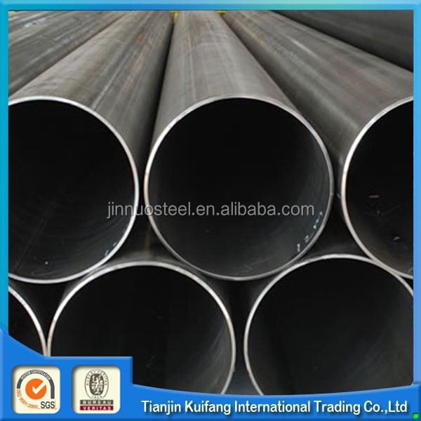 Black hollow iron pipe, astm a53 gr.b erw schedule 40 pipe