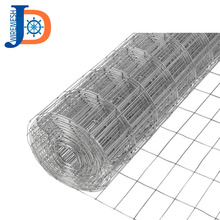 Good products 1x1 galvanized welded wire mesh