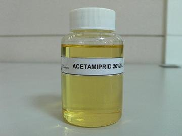 Acetamiprid 20%SL - Synthetic Organic Pesticide Supplier