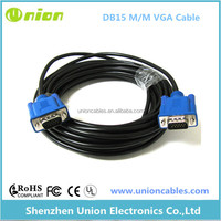 25FT 25 FT 15 PIN SVGA SUPER VGA Monitor Male to Male Cable BLUE CORD FOR PC TV