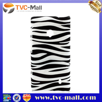 Zebra Skin Plastic Cover Case Accessories for Nokia Lumia 520