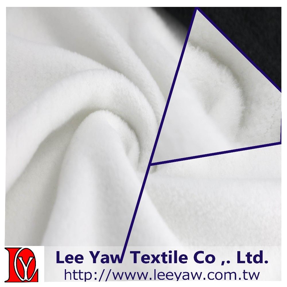 polyester rayon polar fleece fabric with anti-pilling for garment