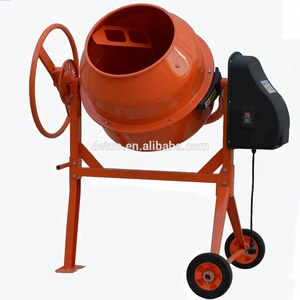 CE Certificate 550w portable 140L mini Concrete mixer for construction