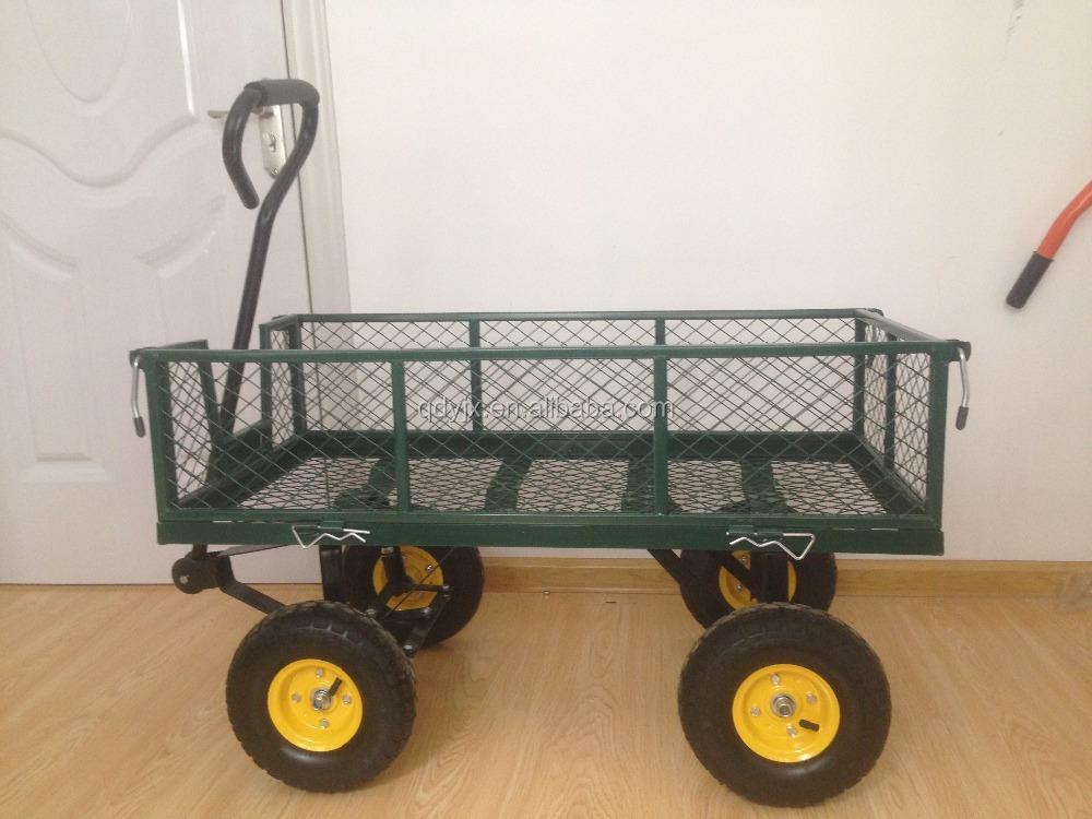 Gardening tool cart beach tool cart hand buggy tc1840 for Gardening tools jakarta