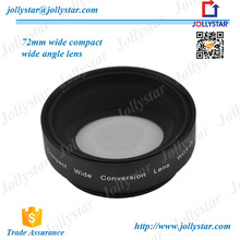 Universal Wide Angle Lens 180 Degree Fisheye Lens For Digital Camera 72mm 0.8X