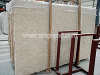 Italian Perlato Svevo marble slabs with big sizes for marble dining table