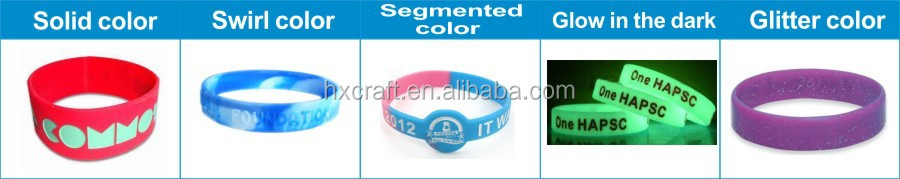 2017 factory direct supply cheap event promotion custom silicone bracelet