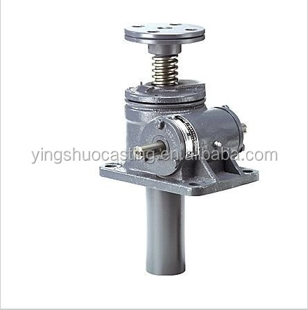 customized screw jack with flange manufacture