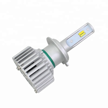 Auto h7 led headlight 6000lm Three Color Light from guangzhou onelight