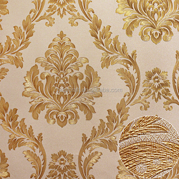 Classic design textile wallcovering wallpapers/wall coating nice/modern decoration wallpaper