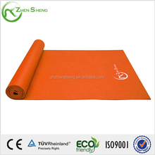 ZHENGSHENG TPE/PVC/NBR/EVA/rubber OEM yoga mat ,high quality Non toxic eco-friendly yoga mat